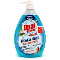 Dual power piatti gel bicarbonato e salvia lt.1