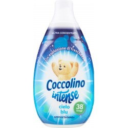 Coccolino Ammorbidente intense cielo blu 570 ml.