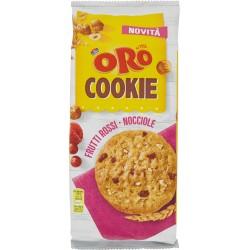 Oro Saiwa Cookie Frutti Rossi - Nocciole 160 gr.