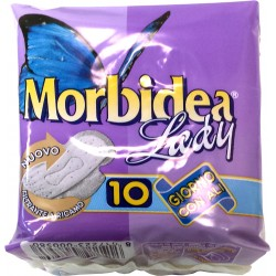 Morbidea assorbenti lady giorno c/ali pz.10