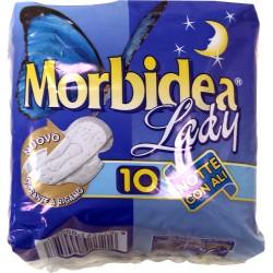Morbidea assorbenti lady notte c/ali pz.10