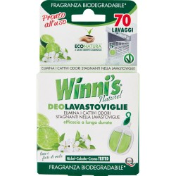 Winni's Naturel DeoLavastoviglie lime e fiori di mela 6,6 ml.