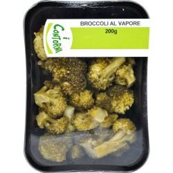I contorni broccoli al vapore gr.200