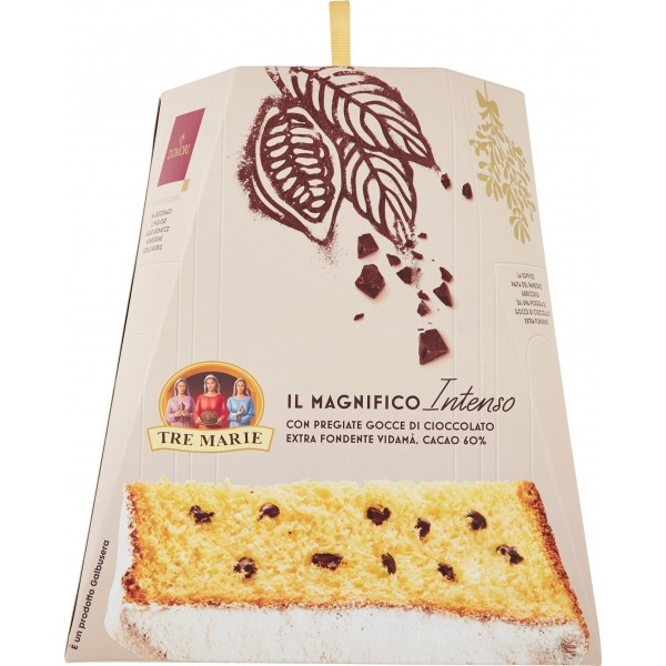 Tre Marie Il Pandoro al Cioccolato Extra Fondente kg.1