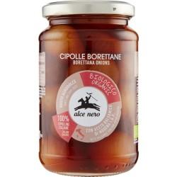 Alce nero Cipolle Borettane bio in aceto balsamico gr.350