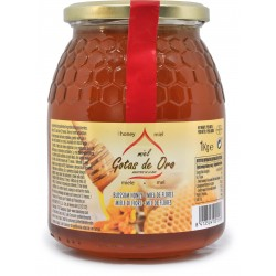 Gotas de oro miele millefiori kg.1