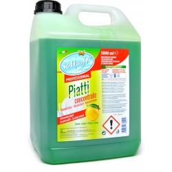 Soft Soft piatti detersivo concentrato al limone lt.5