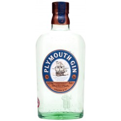 Plymouth gin 41,2° lt.1