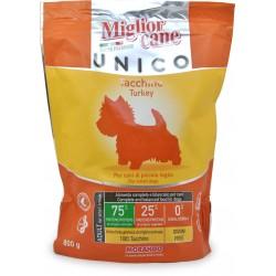Miglior cane unico crocchettee tacchino gr.800