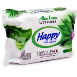 Happy salviette multiuso aloe vera pz.30