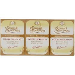 Spuma di Sciampagna Antica Tradizione Sapone Profumato Classico 3 x 90 gr.