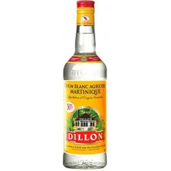 Dillon Rum White cl.70 43° Martinica