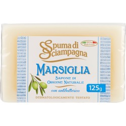 Spuma di Sciampagna Marsiglia Sapone di Origine Naturale 125 gr.