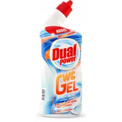 Dual power wc gel profumoso ml.750