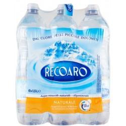 Recoaro acqua naturale lt.1,5x6