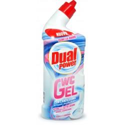 Dual power wc gel con candeggina ml.750