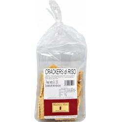 Mantova pane crackers al riso gr.200