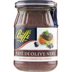 Biffi Patè di Olive Nere 180 gr.
