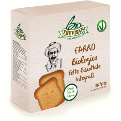 Trevisan fette biscottate integrali al farro Bio gr.300