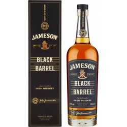 Jameson Black Barrel Tripled Distilled Irish Whiskey 700 ml.