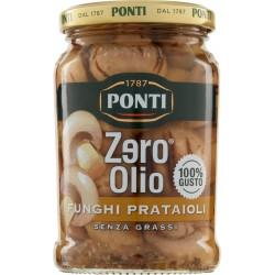 Ponti Zero olio Funghi Prataioli Grigliati 300 gr.