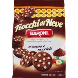 Baroni Fiocchi di Neve al cacao e nocciole 700 gr.