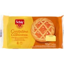 Schar crostatine albicocca gr38x4 senza glutine