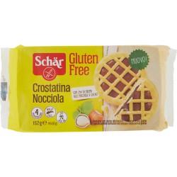 Schär Crostatina Nocciola 4 x 38 gr. senza glutine