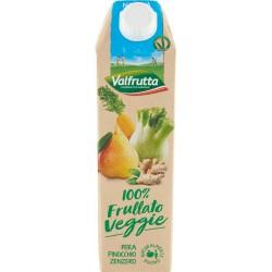 Valfrutta 100% Frullato Veggie Pera Finocchio Zenzero 1000 ml.