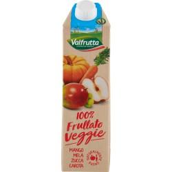 Valfrutta 100% Frullato Veggie Mango Mela Zucca Carota 1000 ml.