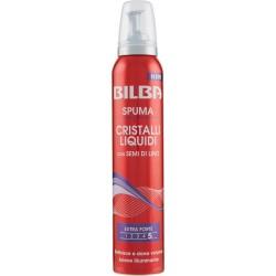 Bilba Spuma Cristalli Liquidi con Semi di Lino 200 ml.