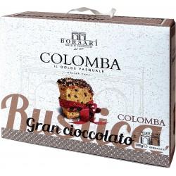 Borsari colomba gran cioccolato kg.1