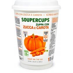 Soupercups zuppa zucca e carote gr.25