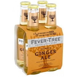 Fever tree ginger ale cl.20 cluster da 4