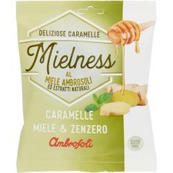 Ambrosoli Mielness Caramelle Miele & Zenzero 90 gr.