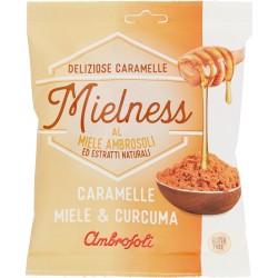 Ambrosoli Mielness Caramelle Miele & Curcuma 90 gr.