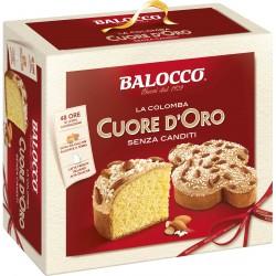 Balocco Colomba cuore d'oro senza canditi gr.750