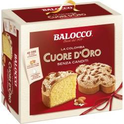 Balocco Colomba cuore d'oro senza canditi kg.1