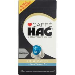 Caffè HAG Classico Decaffeinato 6 10 Capsule 52 gr.
