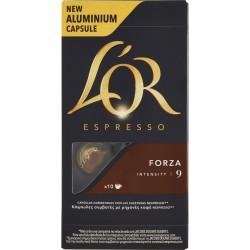 L'OR Espresso Forza 9 10 Capsule 52 gr.