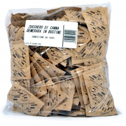 Zucchero canna grezzo bustine x150