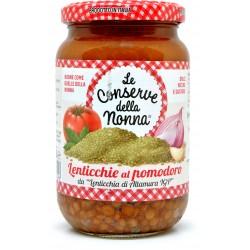 Le conserve della Nonna lenticchie al pomodoro gr.360