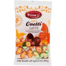 Witor's Mini Ovetti Latte con Ripieno di Crema alla Nocciola 125 gr.