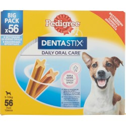Pedigree DentaStix Daily Oral Care* 5-10 kg Big Pack 56 Pezzi 8 x 110 g
