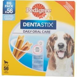 Pedigree DentaStix Daily Oral Care* 10-25 kg Big Pack 56 Pezzi 8 x 180 g