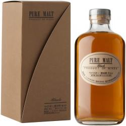 Nikka whisky pure malt black cl.50 astucciato
