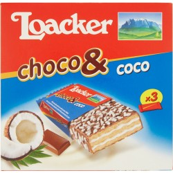 Loacker Choco & Coco 3 x 22 g
