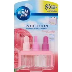 Ambi Pur 3Volution Fiori Eleganti-Deodorante Ambienti-Ricarica 21ml per Diffusore Elettrico
