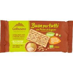 Galbusera Buonpertutti Cracker con Farine di Legumi, Semi di Sesamo e Lino 240 gr.