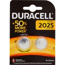 Duracell 2025 DL/CR 2025 3V Lithium pz.2